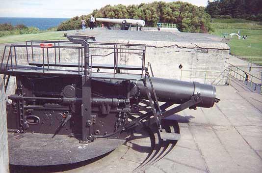 Fort Casey 10-inch Gun