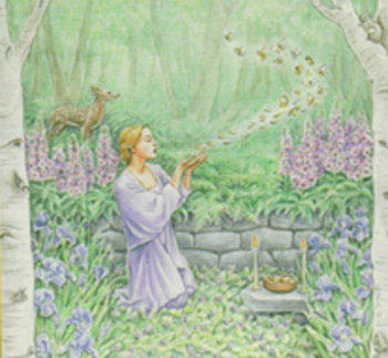 From Cunningham's Magickal Herbs cover