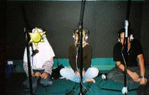 Studio dubbing SCTV (yang difoto bukan dubber lho)