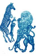 """Aiguafort de J. Granyer. Centenari de Joan Oliver """"Pere Quart"""", 1999"""