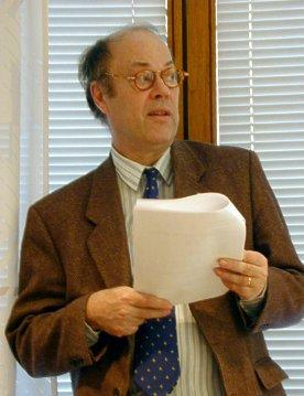 Ingvar Kohlström redogör för ekonomin